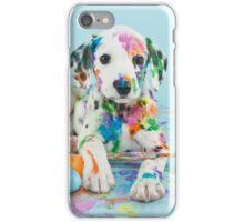 Painted Dalmatian iPhone Case/Skin