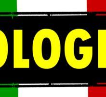 Bologna, Italy Sticker