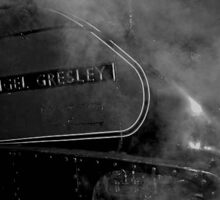 .Sir Nigel Gresley' Steam Engine Sticker