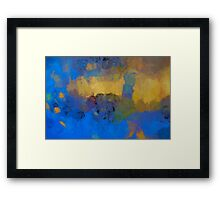 Color Abstraction LVIII Framed Print