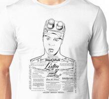 Dan Aykroyd Tattooed Ghostbuster Ray Stantz Unisex T-Shirt