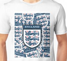 England football 3 Lions insignia badge Unisex T-Shirt