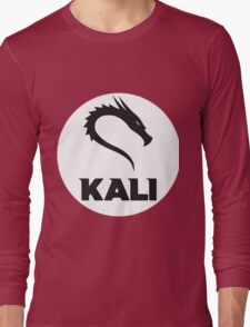 Kali GNU + Linux Logo Long Sleeve T-Shirt