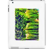 Green Onions 2 iPad Case/Skin