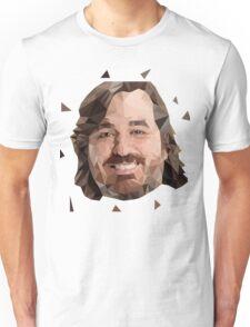 Brian Q Quinn Impractical Jokers Lowpoly art  Unisex T-Shirt