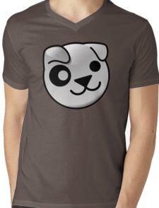 Puppy GNU/Linux Mens V-Neck T-Shirt