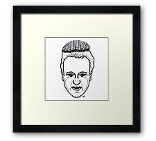 Dodgy Dave Framed Print