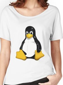 Tux - The Linux Penguin Women's Relaxed Fit T-Shirt