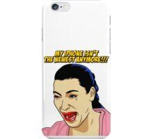 Kim Kardashian crying  iPhone Case/Skin