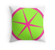 Rasberry Lime Rickey Summer fruit design Throw Pillow