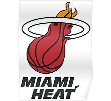Miami Heat Logo Poster
