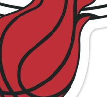 Miami Heat Logo Sticker