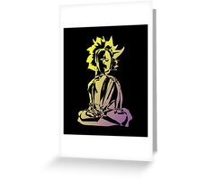 Digital Yogi - 13 (2008) Greeting Card