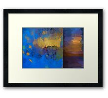 Color Abstraction LIX Framed Print