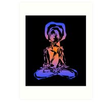 Digital Yogi - 14 (2008) Art Print