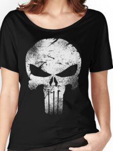 white skull movie Women's Relaxed Fit T-Shirt