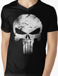 white skull movie Mens V-Neck T-Shirt