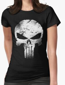 white skull movie Womens Fitted T-Shirt