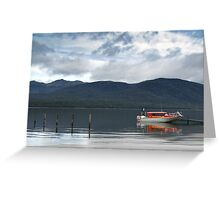 Water taxi Greeting Card
