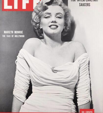 Marilyn Monroe LIFE Cover Sticker