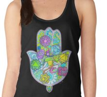 Chakras and the Hand of Fatima Women's Tank Top
