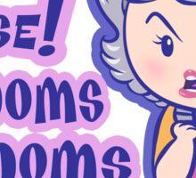 CONDOMS, Rose! Sticker