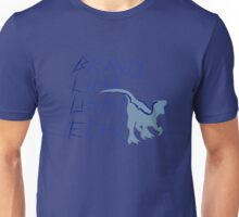 Blue the Raptor Silhouette Unisex T-Shirt