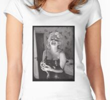 Marylin Monroe by Ed Feingersh, 1955 Women's Fitted Scoop T-Shirt