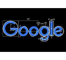 Google t-shirt logo Photographic Print