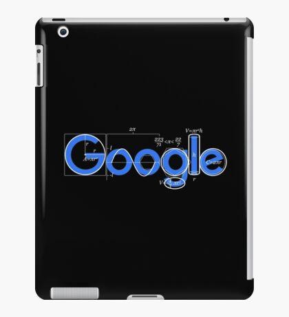Google t-shirt logo iPad Case/Skin