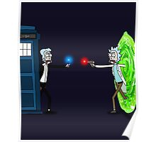 RICKTIONS IN TIME AND SPACE Poster