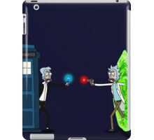 RICKTIONS IN TIME AND SPACE iPad Case/Skin
