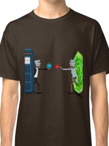 RICKTIONS IN TIME AND SPACE Classic T-Shirt