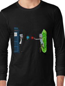 RICKTIONS IN TIME AND SPACE Long Sleeve T-Shirt