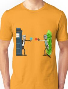 RICKTIONS IN TIME AND SPACE Unisex T-Shirt