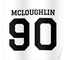 mcloughlin 90 Poster
