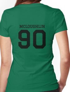 mcloughlin 90 Womens Fitted T-Shirt