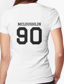 mcloughlin 90 Womens Fitted T-Shirt