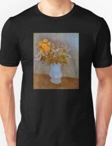 'Lilacs' by Vincent Van Gogh (Reproduction) Unisex T-Shirt