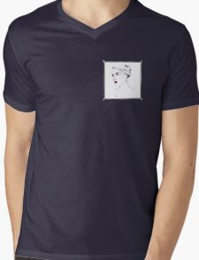 A Modern Portrait Mens V-Neck T-Shirt