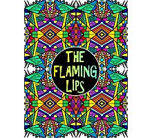 The Flaming Lips - Psychedelic Pattern 1 Photographic Print