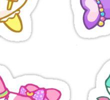 Fairy kei decorated orcas Sticker