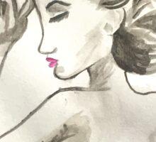 Vogue Watercolor Sticker
