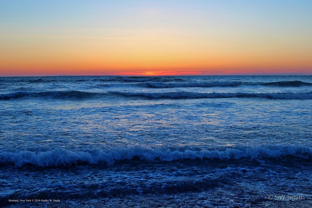 Atlantic Ocean's Dawn | Montauk Point, New York  by © Sophie W. Smith