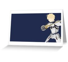Saber  Fate / Prototype Greeting Card