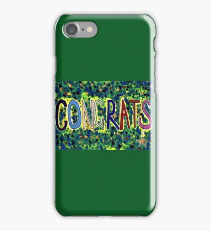 Congrats iPhone Case/Skin