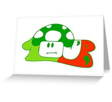 1up to life, no forfait Greeting Card