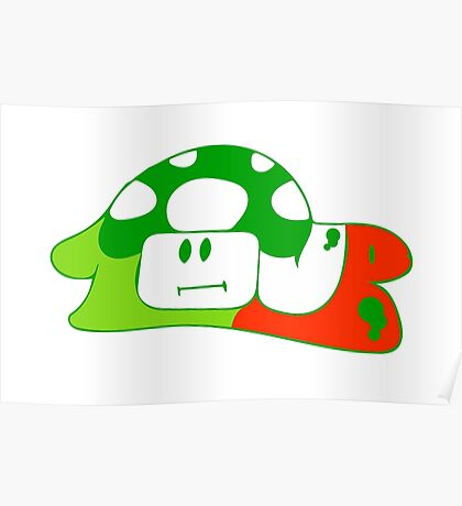 1up to life, no forfait Poster
