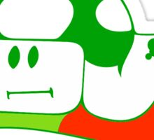 1up to life, no forfait Sticker