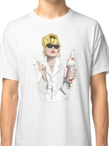 Patsy Stone AbFab Cheers Darling Classic T-Shirt